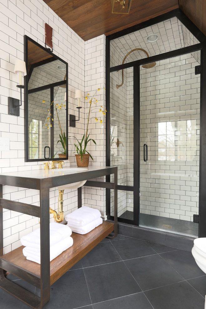 ванная комната с плиткой