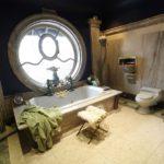 Большая ванная античный стиль