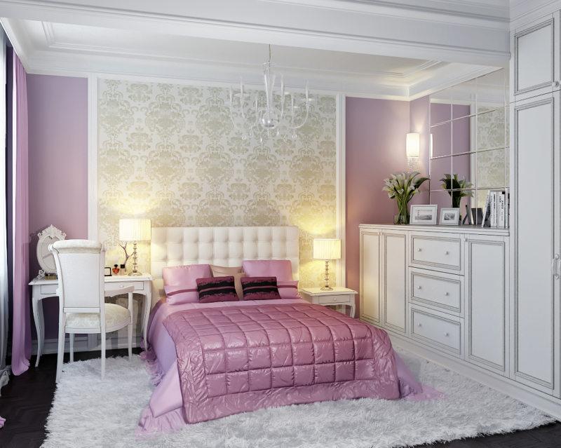 Декор спальни стиль классик