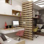 Дизайн детской комнаты для двух разнополых детей отдельные зоны