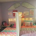 Дизайн детской комнаты для двух разнополых детей перегородка