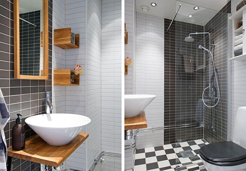 отделка ванной 4 кв м