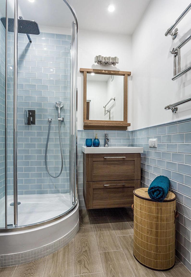 плитка под ламинат в ванной