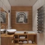 дизайн ванной 5 кв м фото интерьера