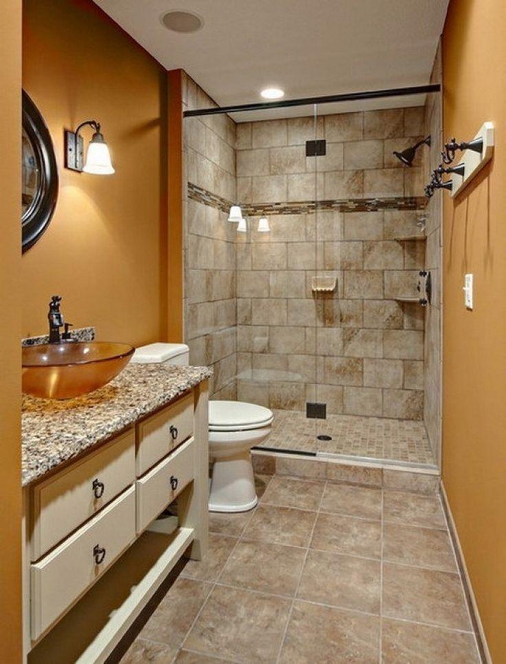 Дизайн ванной комнаты 6 кв душевая у короткой стены