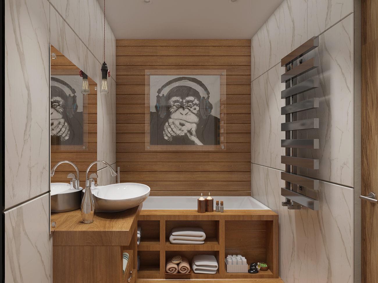 Дизайн ванной комнаты 6 кв м практичность и красота