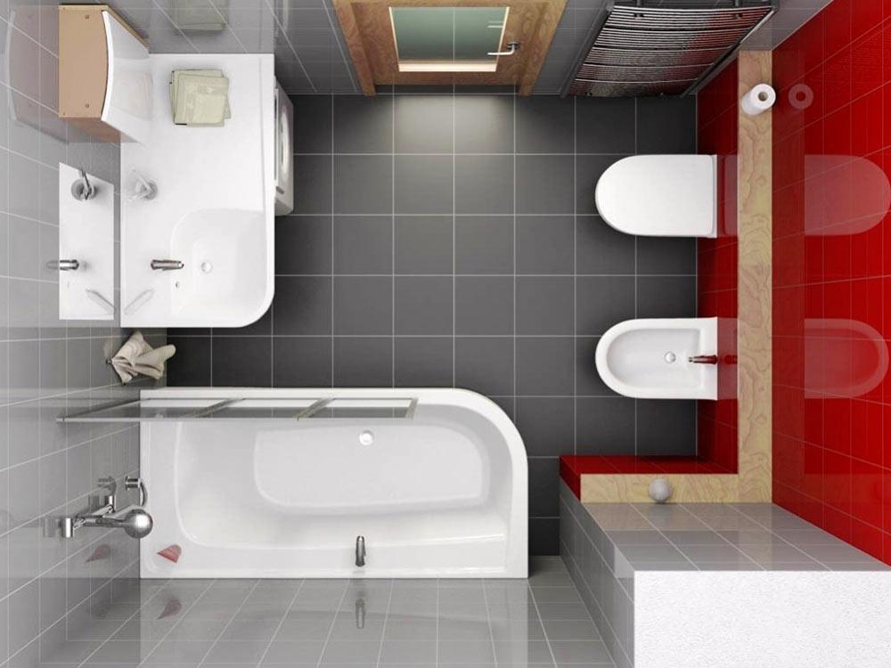 Дизайн ванной комнаты 6 кв м с биде