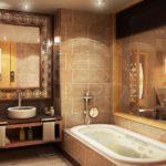 Дизайн ванной комнаты 6 кв м с зеркалами