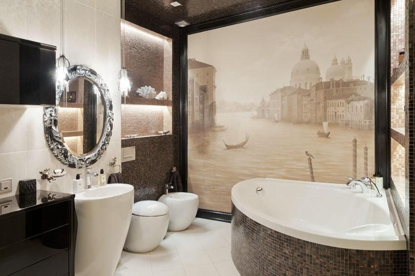 Дизайн ванной комнаты 6 кв м совмещенный санузел