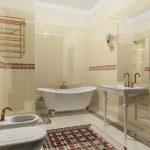 Дизайн ванной комнаты 6 кв м в стиле модерн