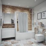 Дизайн ванной комнаты 6 кв м в стиле ориентал