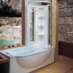 Дизайн ванной комнаты 6 кв м ванна в комбинации с душевой кабинкой