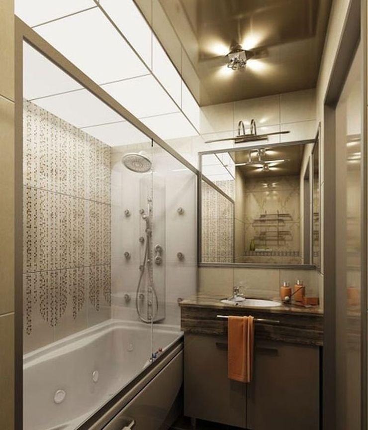 17_Дизайн ванной комнаты 6 кв м освещение