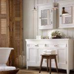 Дизайн ванной комнаты в винтажном стиле