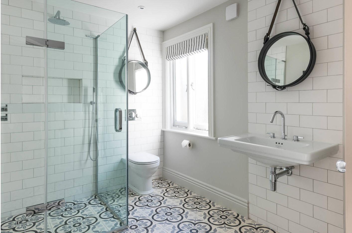 дизайн ванной с туалетом отделка плиткой