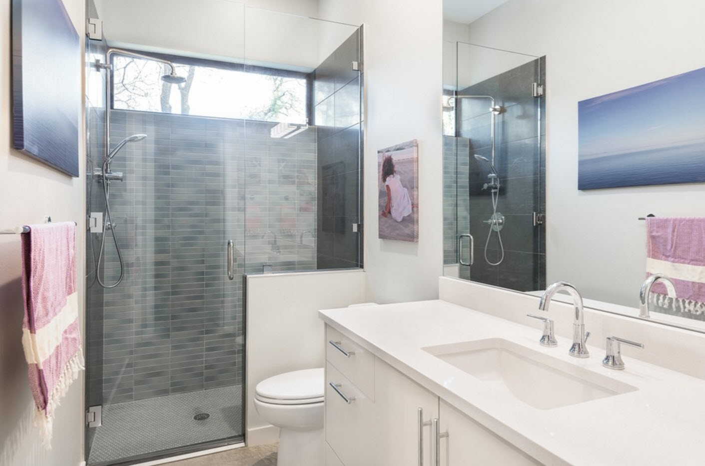 дизайн ванной с туалетом