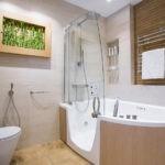 дизайн ванной совмещенной с туалетом идеи фото