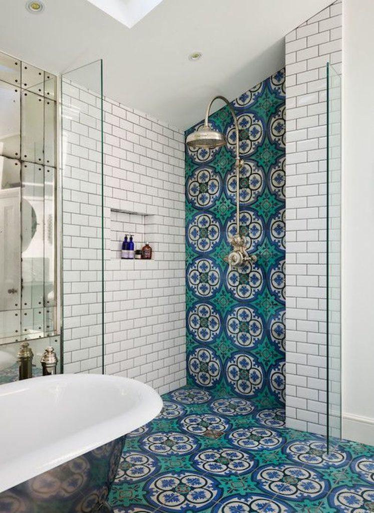 Мозаика для ванной комнаты и кафельная плитка