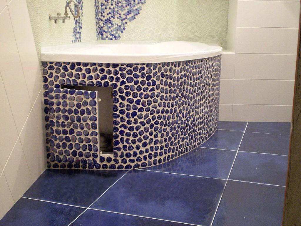 Мозаика для ванной комнаты керамика под камень