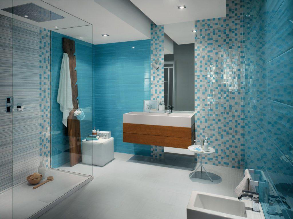 Мозаика для ванной комнаты неограниченные возможности