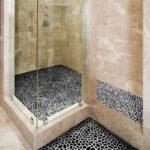 Мозаика в ванной комнате имитация галечного камня