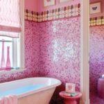 Мозаика в ванной комнате классика