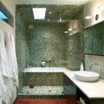 Мозаика в ванной комнате оформление ниши под ванную