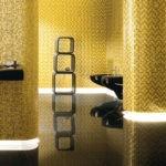 Мозаика в ванной комнате с подсветкой