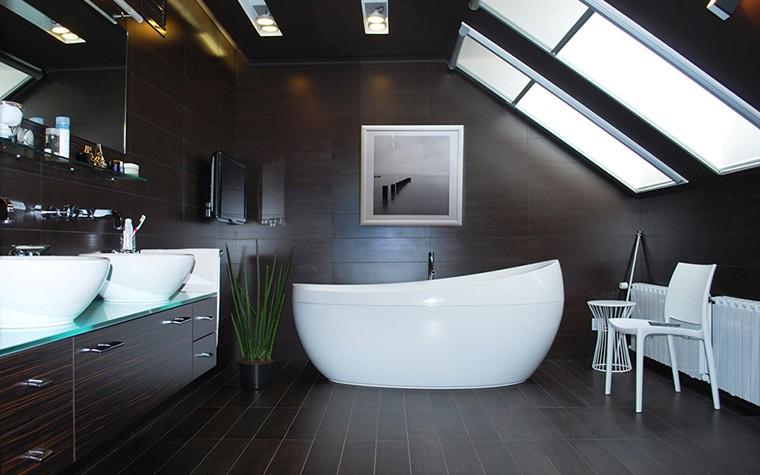 Проект ванной комнаты в доме работа специалиста