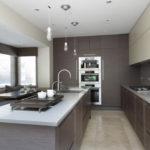 Сочетание цветов интерьер кухни ахроматические цвета