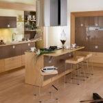 Сочетание цветов интерьер кухни светло-коричневый на бежевом