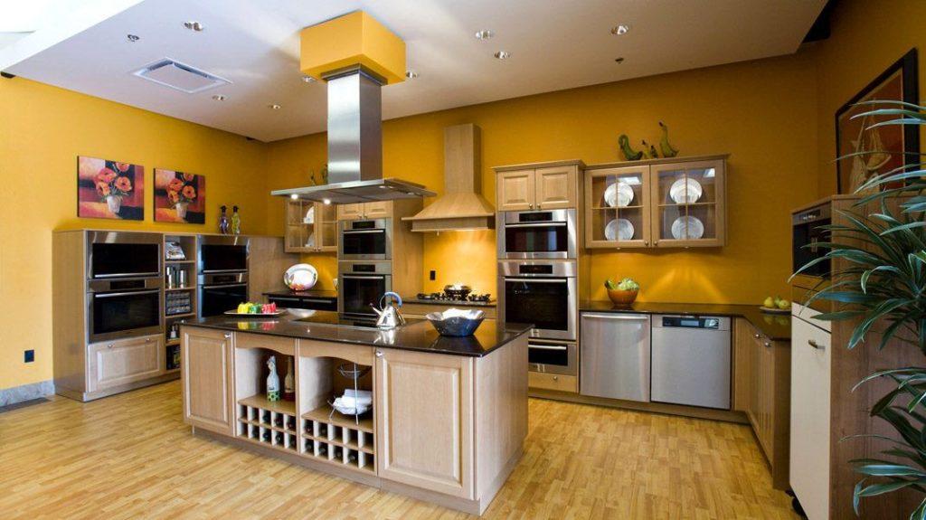 Современная кухня личное пространство