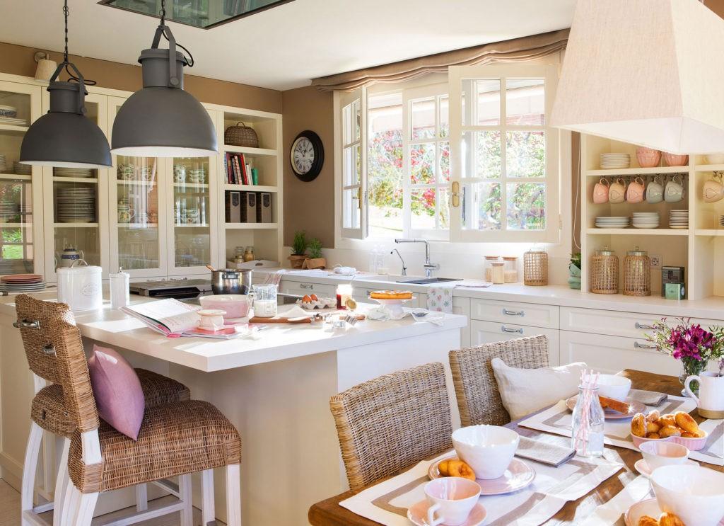 Современная кухня стиль прованс