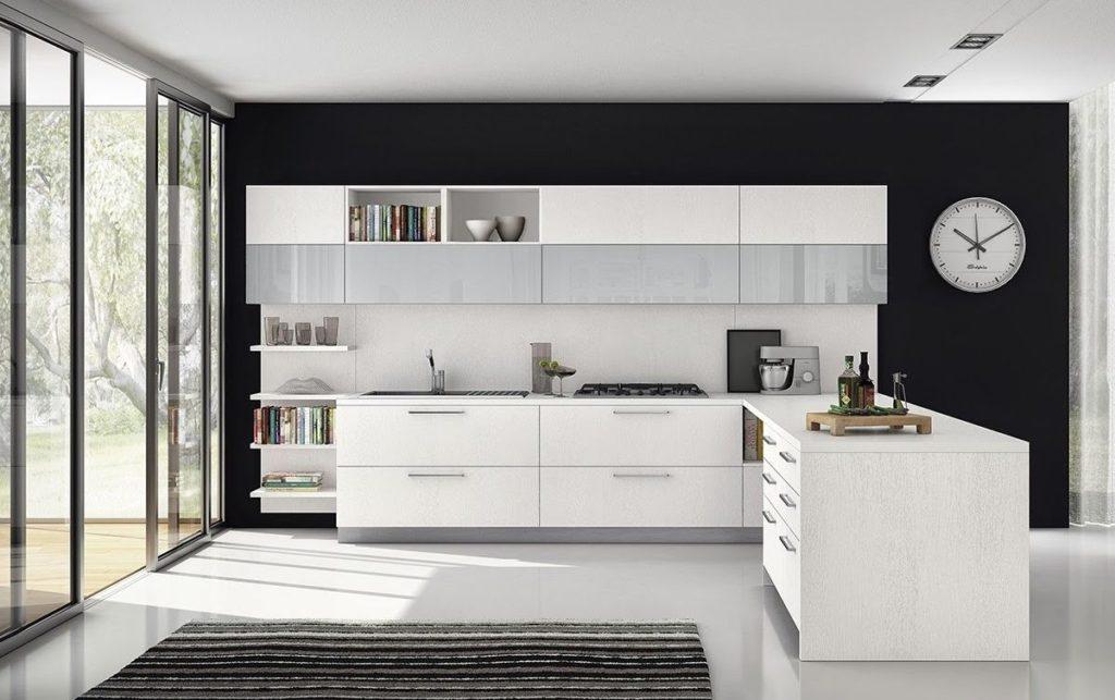 Современная кухня темные цвета