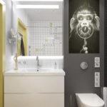 ванная комната 3 кв м идеи