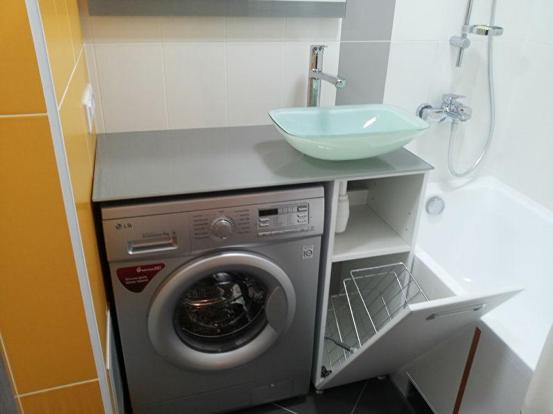 идеи дизайна ванной 3 м2