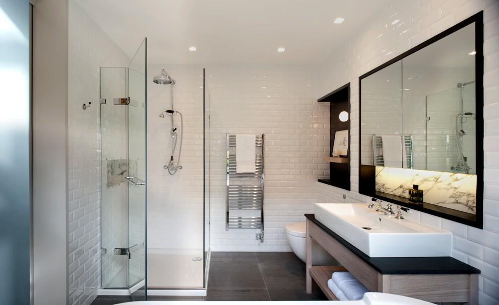 стильный дизайн ванной 5 м2