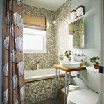 ванная комната с окном фото дизайна