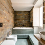 идеи дизайна ванной совмещенной с туалетом