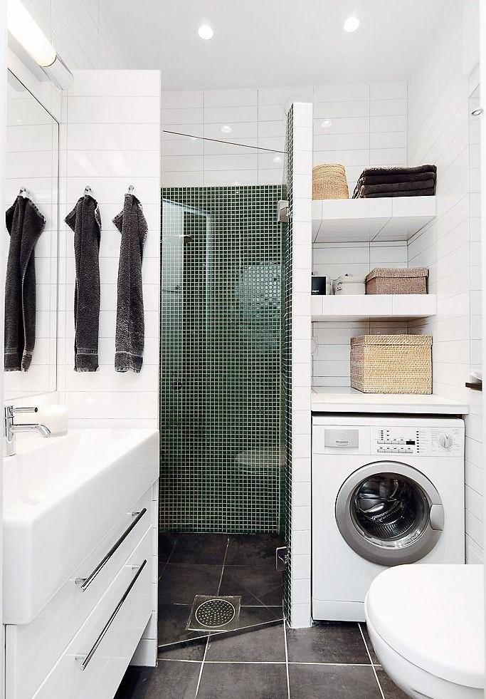 вариант дизайна ванной 3 кв м