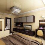 дизайн гостиной спальни в современном виде