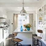 дизайн узкой кухни идеи интерьер