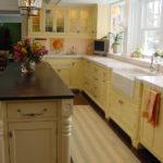 дизайн узкой кухни идеи интерьера