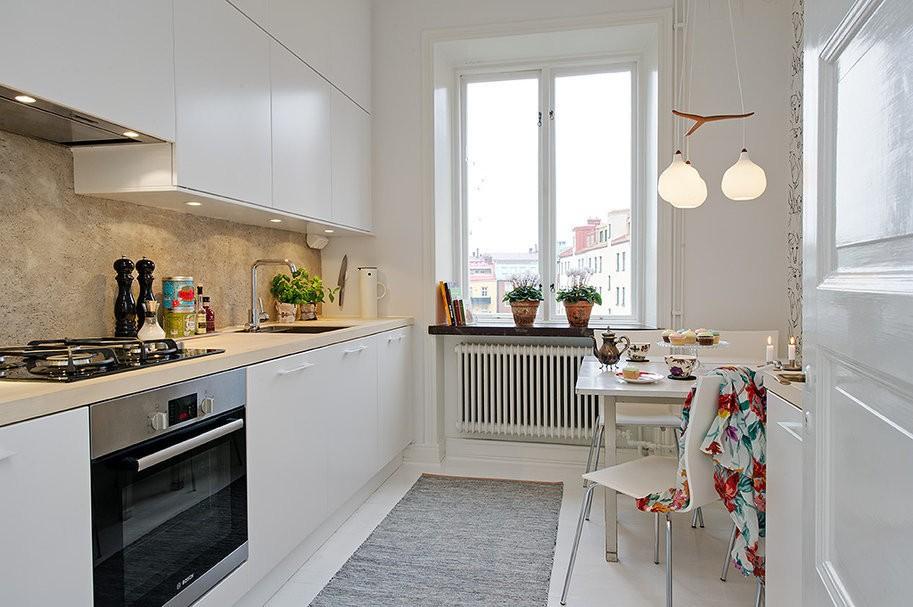 кухня в скандинавском стиле 2018