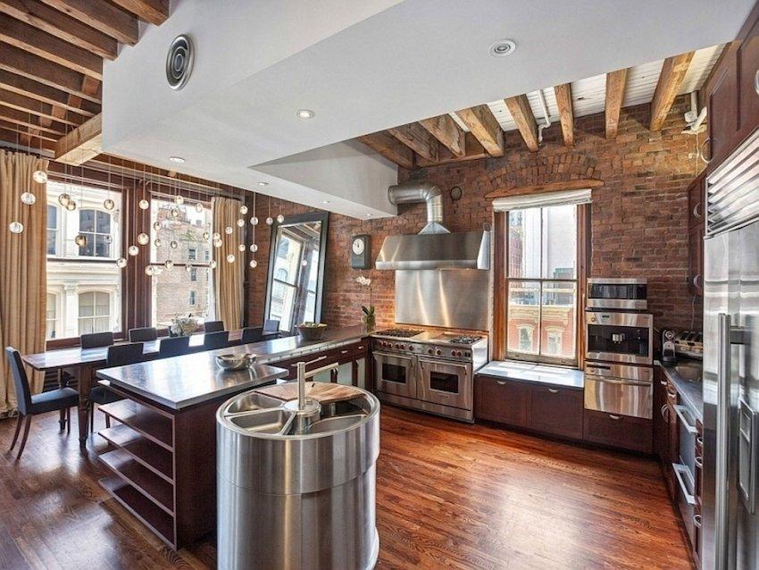 дизайн кухни 2018