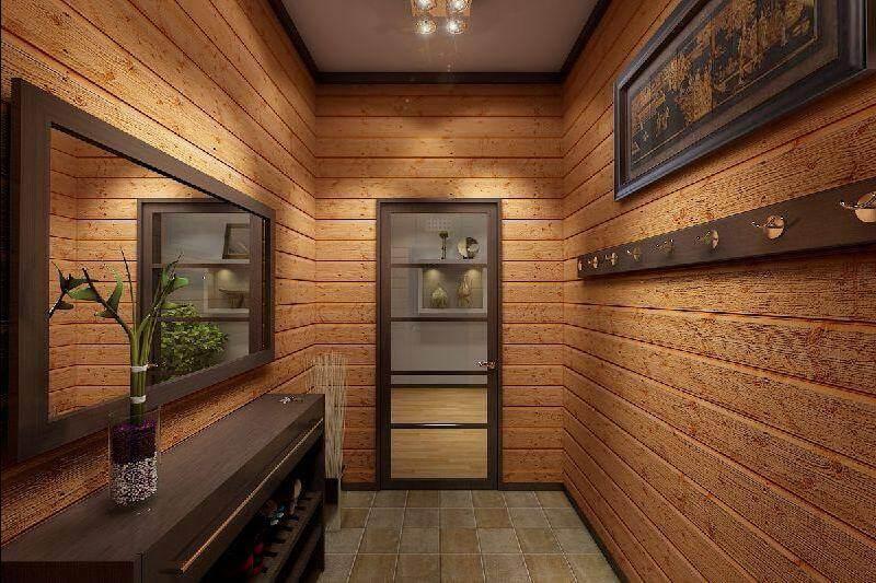 коридор в частном доме