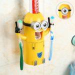 Декор ванной комнаты гаджет держатель-дозатор зубной пасты