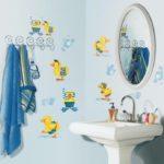 Декор ванной комнаты оформление самоклейкой
