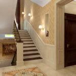 дизайн холла в частном доме фото интерьера