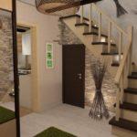 дизайн холла в частном доме оформление идеи